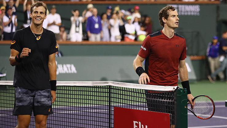 Murray'den Indian Wells'e erken veda