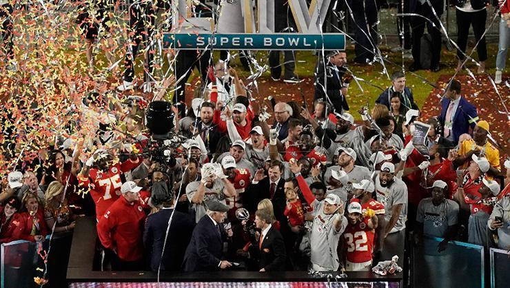 Kansas City Chiefs SuperBowl'u kazandı
