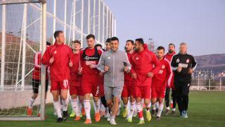 Sivasspor'da neşeli idman! VİDEO