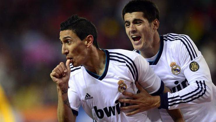 Real Madrid Di Maria'yla: 1-2