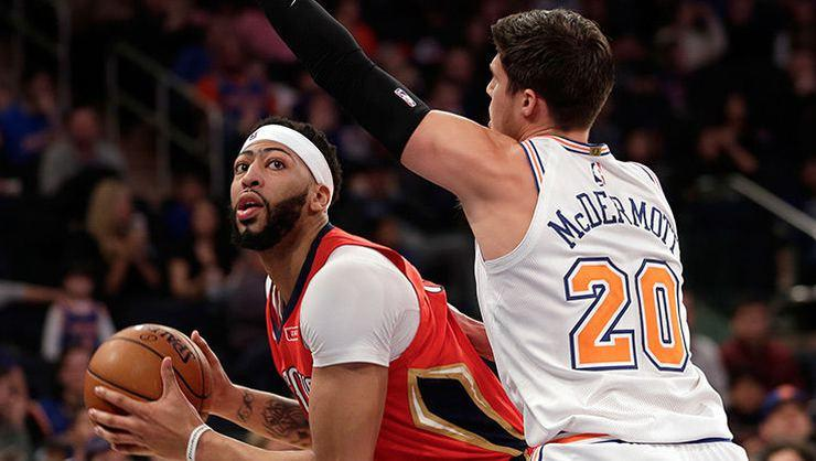 Anthony Davis'ten Knicks'e karşı 48 sayı