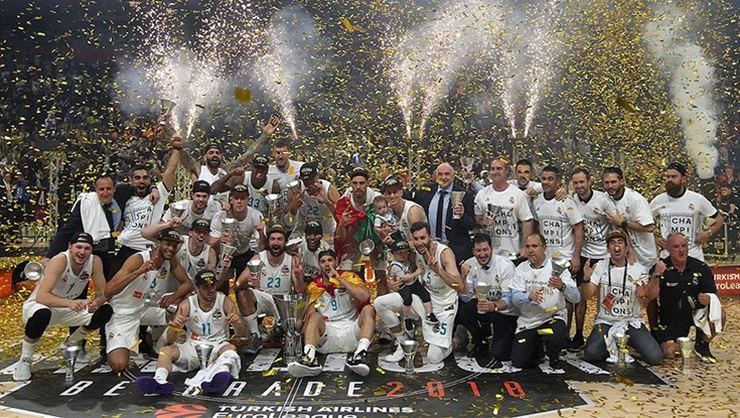 EuroLeague'de rekor Real Madrid'de