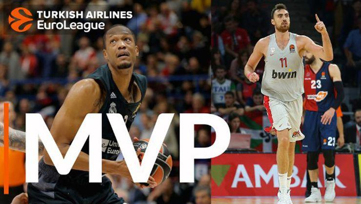 EuroLeague'de 2. haftanın MVP'leri Nikola Milutinov ve Anthony Randolph!