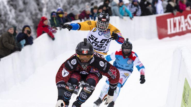 Red Bull Crashed Ice ilk kez Boston'da stadyuma giriyor