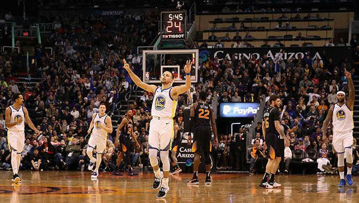 Warriors deplasmanda yenilmiyor