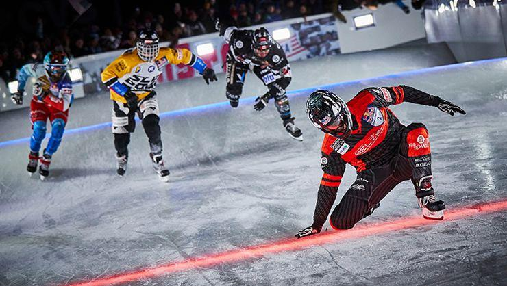 Red Bull Crashed Ice'ta 3. etabı Naasz ve Trunzo kazandı