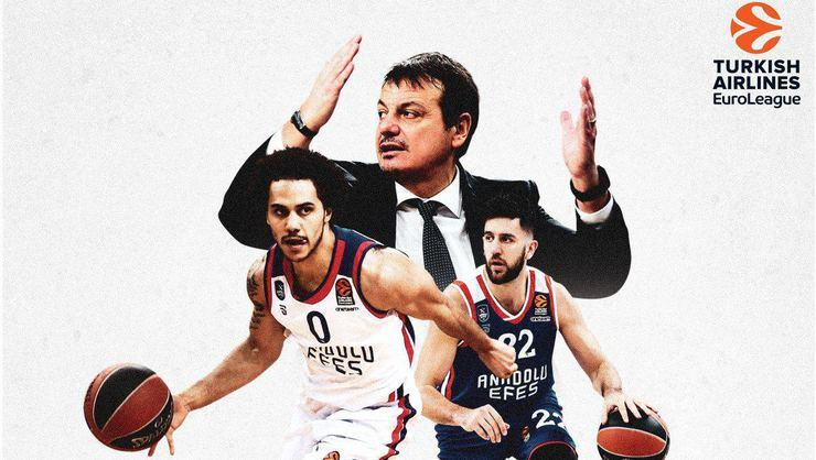 Anadolu Efes, EuroLeague'de Play-Off'u garantiledi