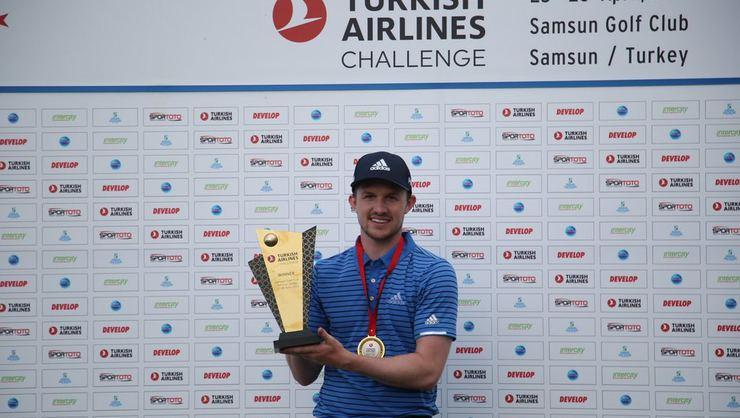 Turkish Airlines Challenge'da Connor Syme şampiyon oldu