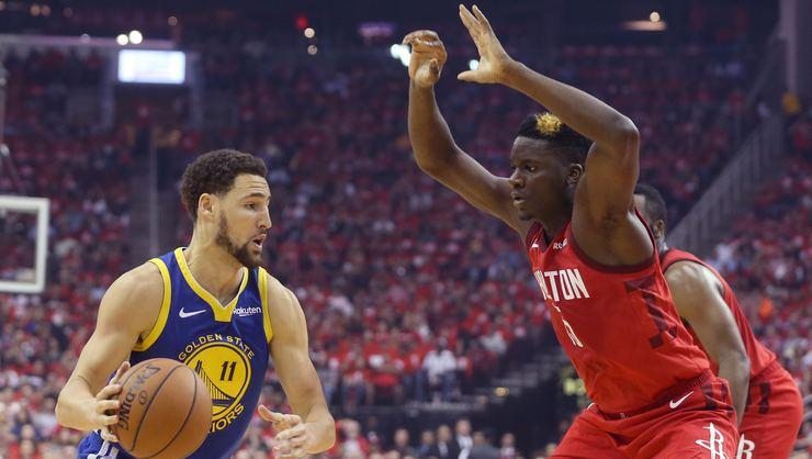 Golden State Warriors, Houston Rockets'ı yenerek Batı Konferansı'nda finale yükseldi
