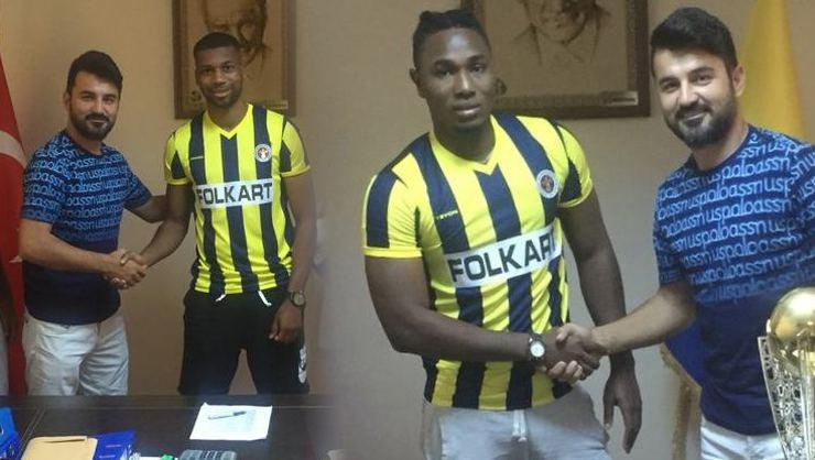 Menemenspor, Alpha Jallow ve İbrahim Sangare'yi transfer etti