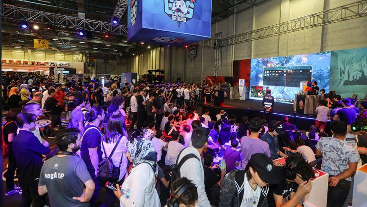 Red Bull Gaming Ground'a Gamex'te yoğun ilgi