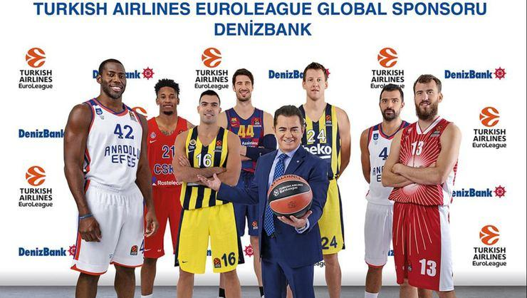 DenizBank, Euroleague Basketball'un global sponsoru oldu