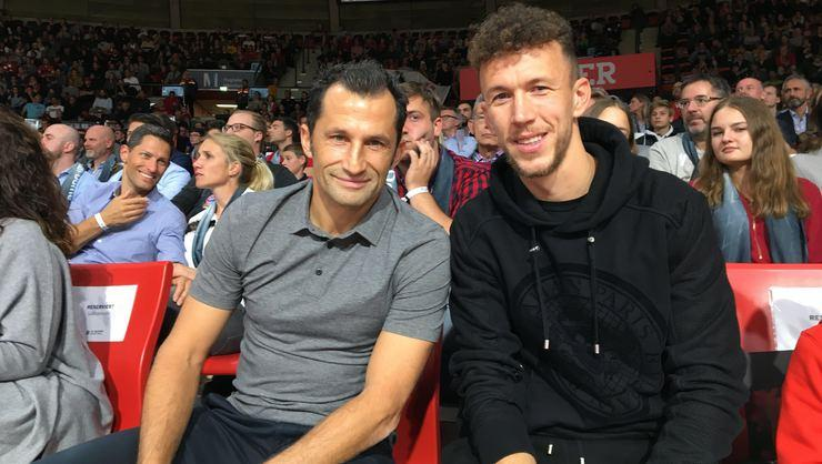 Salihamidzic ve Perisic'ten Bayern Basketball'a destek