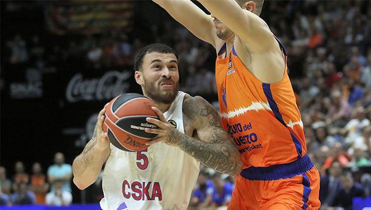 Euroleague'de haftanın MVP'si CSKA Moskova'dan Mike James