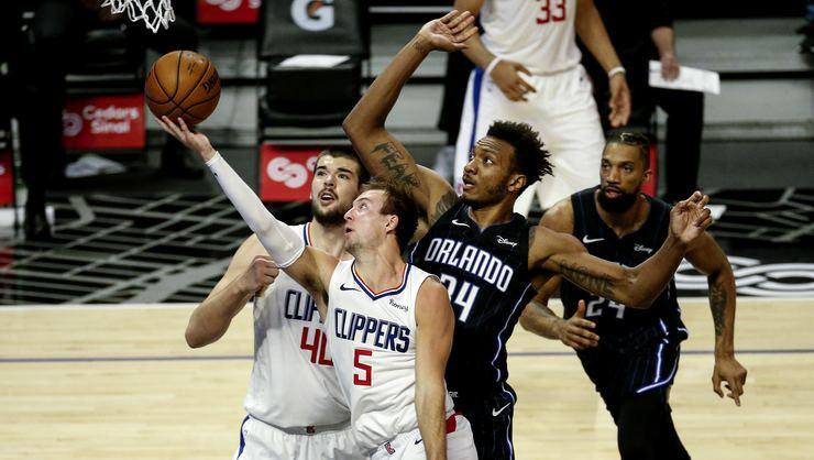NBA'de 6 maçtır kazanan Los Angeles Clippers'ı Orlando Magic durdurdu